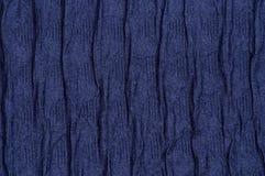 Волна предпосылки ткани военно-морского флота как конец-вверх Стоковые Фотографии RF