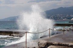 Волна прибоя моря Стоковые Изображения