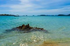 Волна пляжа и моря Стоковые Изображения RF
