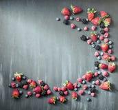 Волна скручиваемости ягод Стоковая Фотография RF