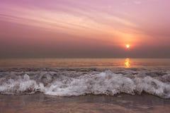 Волна утра Стоковое Изображение