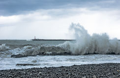 Волна Чёрного моря Стоковая Фотография