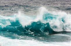 Волна шторма в Средиземном море Стоковая Фотография RF