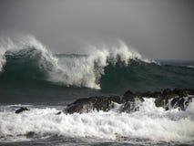 Волна шторма Стоковое Изображение