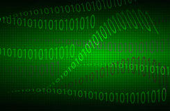 Волнистая матрица предпосылки чисел Стоковые Изображения RF