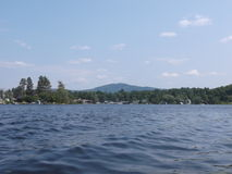 Волнистое озеро Стоковые Изображения RF