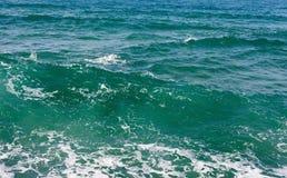 Волнистое Средиземное море Стоковые Фото