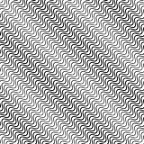 Волнистые раскосные параллельные линии безшовное, repeatable PA monochrome бесплатная иллюстрация