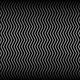 Волнистые, billowy линии зигзага иллюстрация штока