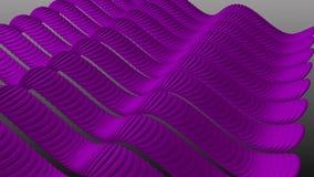 Волнистый пурпур Stripes синус сток-видео