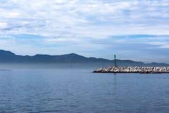 Волнорез Ensenada Стоковая Фотография