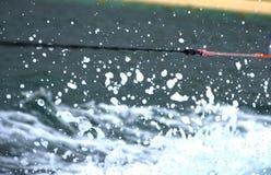 Водные виды спорта веревочки Стоковые Фото