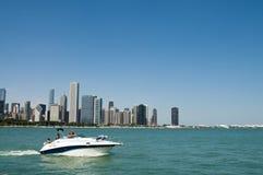 Водные виды спорта в Чикаго Стоковая Фотография RF