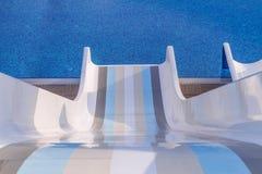 Водные горки Стоковое фото RF