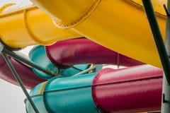 Водные горки Стоковые Изображения RF