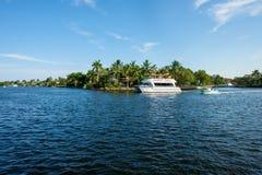 Водный путь Fort Lauderdale Стоковая Фотография