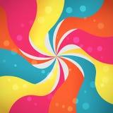 волны абстрактной предпосылки цветастые Стоковые Изображения