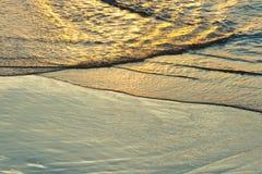 волны волны океана переднего плана фокуса Стоковое Изображение RF