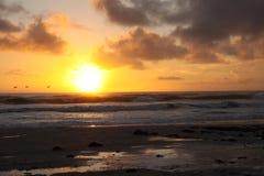 волны волны океана переднего плана фокуса Стоковая Фотография