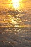 волны волны океана переднего плана фокуса Стоковые Изображения