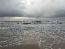 Волны в море Baltic Стоковые Фотографии RF