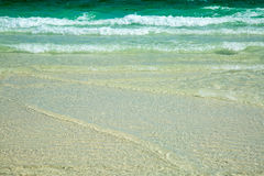 Волны завальцовки Стоковые Фото