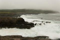 Волны и скалы Стоковая Фотография RF