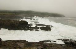 Волны и скалы Стоковые Фотографии RF