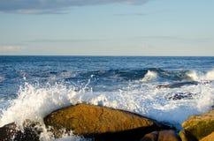 Волны после полудня стоковое изображение