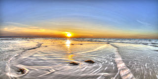 Волны моя внутри на восточный этап, NT, Австралия Стоковые Фотографии RF