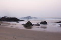 Волны на выдержке Стоковое Фото