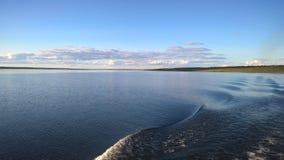 Волны на реке Стоковое Изображение