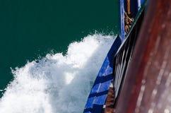 Волны на смычке Стоковая Фотография RF