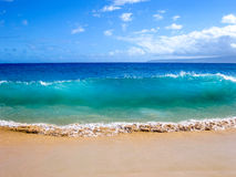 Волны океана, Мауи, Гаваи Стоковые Изображения