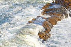 Волны Орегона Стоковое Изображение
