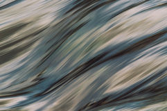 Волны долгой выдержки реки Стоковые Изображения