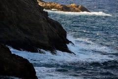 Волны пены Стоковое Изображение