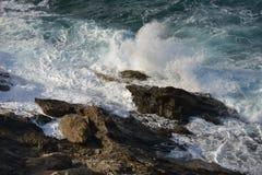 Волны пены Стоковое Фото