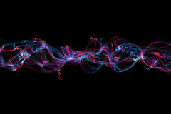 Волны переплетенные конспектом Стоковое Изображение RF