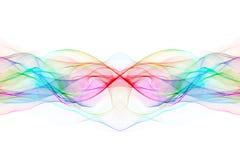 Волны переплетенные конспектом Стоковая Фотография