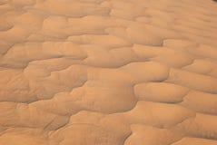 Волны песка в пустыне Стоковое фото RF