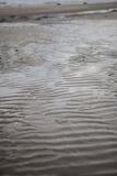 Волны песка на пляже Стоковые Изображения RF
