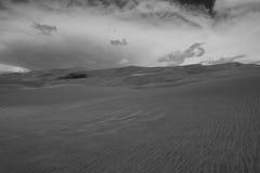 Волны песка на дюнах Стоковые Фото