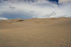 Волны песка на дюнах Стоковое Изображение