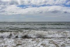 Волны после шторма Стоковая Фотография RF