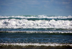 Волны приходя внутри Стоковые Изображения RF