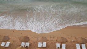 Волны пляжа взморья видеоматериал