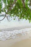волны пляжа Стоковая Фотография RF