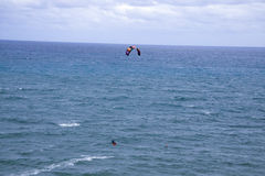 Волны серфера змея jumpting Стоковое фото RF