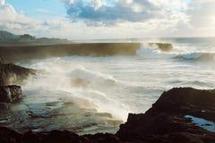 волны текстуры моря конструкции произведения искысства естественные Стоковые Изображения RF